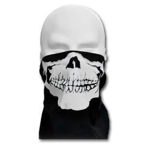 WINDMASK Biker Totenkopf Skull Face Bandana Gesicht Tuch mit