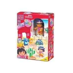 Mega Bloks Dora Wild West Adventures Toys & Games