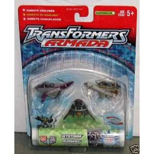 Transformers Armada Dark Air Assault Team (Jetstorm Runway
