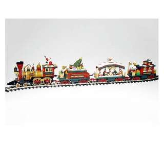 New Bright Holiday Express Animated Train Set.   QVC