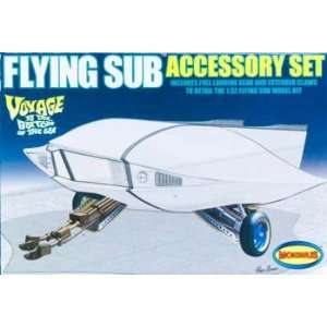 Moebius Models   Flying Sub Accessory Kit (Plastic Figure Model