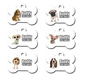 Cute Custom Personalised Pet Dog Name ID Tag