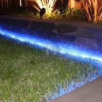 Outdoor Blue LED Garden Patio Decking BBQ Party Rope Mood Lighting