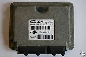 VW LUPO 1.4 16V AHW ENGINE CONROL UNIT ECU 036 906 014 AN 036906014AN