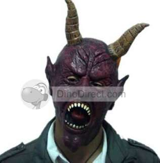 Hom Screaming Scary Ox Demon Monster Halloween Mask   DinoDirect