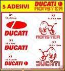 ADESIVI DUCATI MOTO TUNING STICKER ENTRA webmagliette