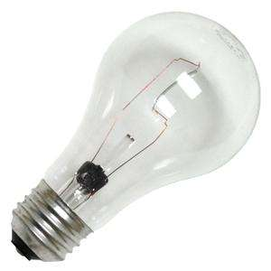 Screw (E26) Base Clear Incandescent GE Light Bulb (GE 40A/CL 12311