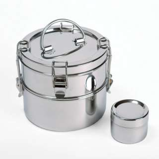 To Go Ware 2 Tier Stainless Steel Food Carrier: Kitchen & Dining