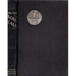 The 1931 Roll Call (Culver Military Academy) Frederick Wright, Thomas