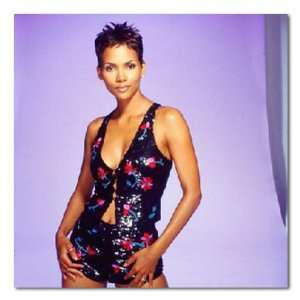Halle Berry Color Box Canvas Print Gallery Wrapped