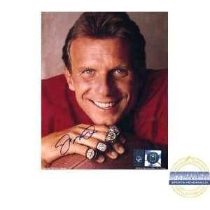 Joe Montana San Francisco 49ers RingsFramed 8x10 Autographed