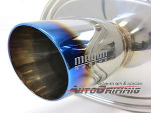 Megan Racing M VO TURBO Exhaust Muffler VW Golf GTI Jetta Passat MK3