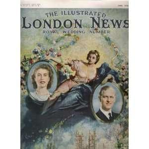QUEEN ELIZABETH II WEDDING 1947 LONDON ILLUS. NEWS MAG.