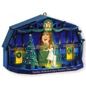 Grand Ole Opry Martina McBride Christmas Ornament Home & Kitchen