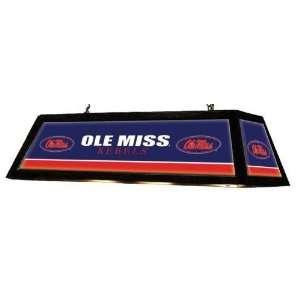 Mississippi Ole Miss Rebels Varsity Backlit Billiard/Pool