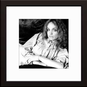 Pamela Sue Martin Custom Framed And Matted B&W Photo Total
