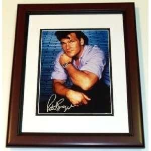 Patrick Swayze Autographed/Hand Signed 8x10 Photo MAHOGANY CUSTOM