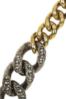 Lanvin Stone embellished chain link belt   60% Off Now at THE OUTNET