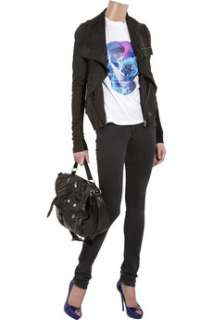 Alexander McQueen Skull print cotton T shirt   50% Off Now at THE