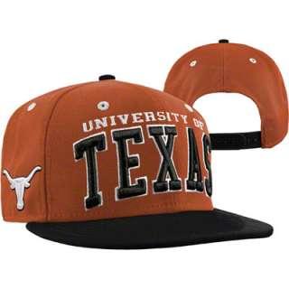 Texas Longhorns Black/Orange Headliner Snapback Adjustable Hat