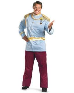 Mens Deluxe Plus Size Disney Prince Charming Costume  Plus Size