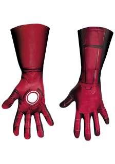 Adult Deluxe Iron Man Mark VII Gloves   Avengers Iron Man Accessory