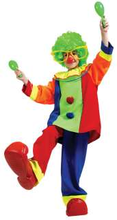 Child Little Bozo Clown Costume   Circus Clown Costumes