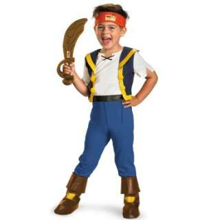 Disney Jake And The Neverland Pirates Deluxe Jake Toddler Costume