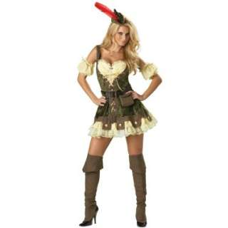 Halloween Costumes Racy Robin Hood Elite Collection Adult Costume