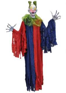 Hanging Evil Clown   Decorations & Props