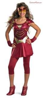 Iron Man 2 (2010) Movie   Iron Girl Child/Tween Costume