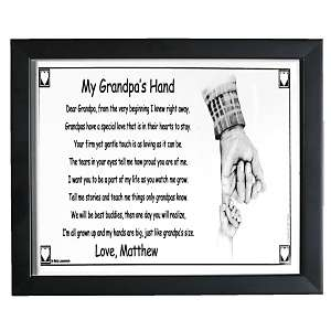 Personal Creations Grandpas Hand Keepsake Print at HSN
