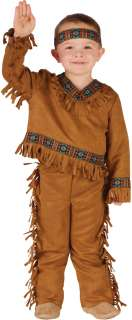 Native American Boy Toddler Costume  Toddler American Indian Costume