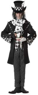 Mad Hatter Costume for Adults  Gothic Mad Hatter Halloween Costume