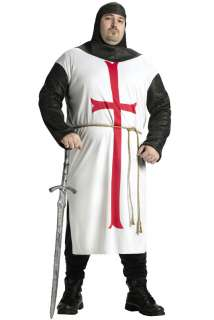 Templar Knight Plus Size Costume for Halloween   Pure Costumes