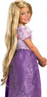 Oh Rafunzel, Rafunzel, what a lovely hairLong blond synthetic wig