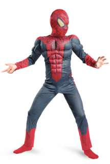 Marvel The Amazing Spiderman Spider Man Movie Classic Muscle Child