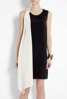Phillip Lim  Black Asymmetric Shadow Shift Dress by 3.1 Phillip