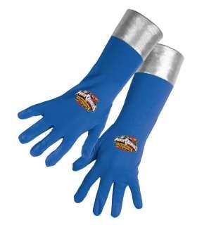 Child Blue Ranger Gloves   Power Ranger style gloves have the