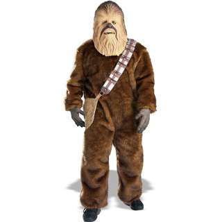 Star Wars Chewbacca Adult   This deluxe costume comes with a furry