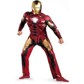 Movie   Iron Man Mark 6 Classic Muscle Adult Costume     1668258