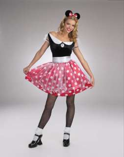 Adult Minnie Mouse Costume   Classic Disney Costumes   15DG5094