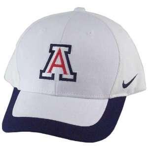 Nike 2004 Arizona Wildcats White Coaches Sideline Hat