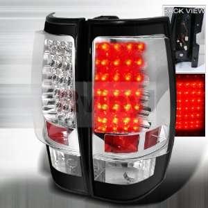 Chevrolet Tahoe Suburban 2007 2008 2009 2010 2011 LED Tail
