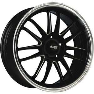 Advanti Racing Stilo 16x7 Black Wheel / Rim 5x100 & 5x4.5 with a 40mm