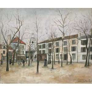 Hand Made Oil Reproduction   Maurice Utrillo   24 x 20