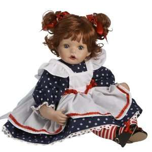Baby Annie, 23 Porcelain Baby Doll in Porcelain by Artist
