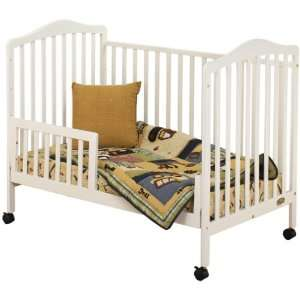 Orbelle 0 3T Jenny Crib with Free Toddler Rail Guard Baby