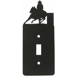 Barrel Race Single Light Switch Plate Cover (b)