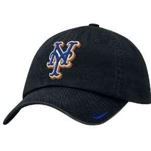 Black Adjustable Stadium Baseball Cap By Nike